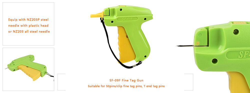 features of our 09f fine tag gun