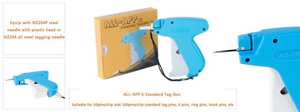 features of our app s standard tag gun