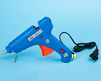 hot melt glue gun front view