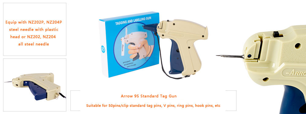 features of our arrow 9s tag gun